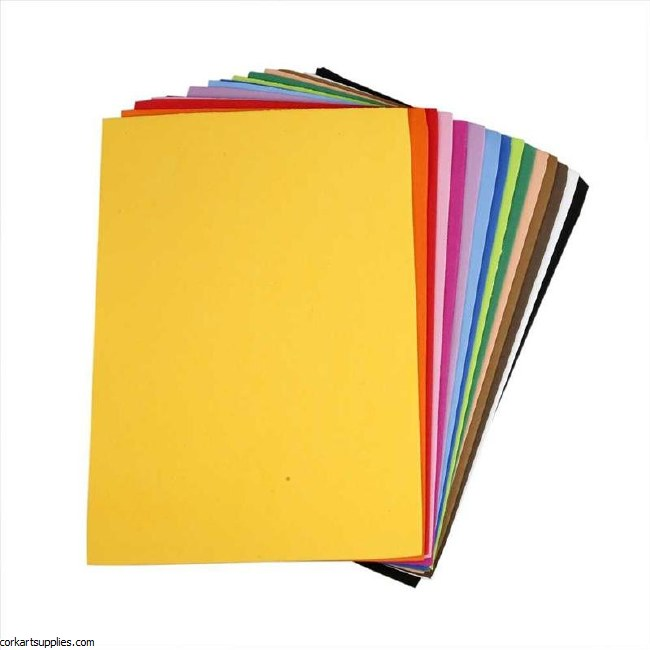 Foam Sheet Assorted 30 Pack 9x12