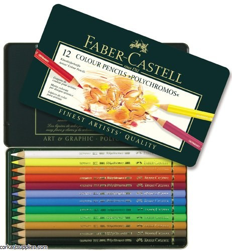 Polychromos Coloured Pencil 12 Pack