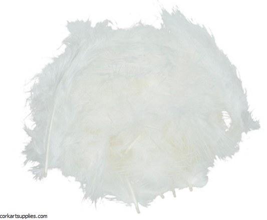 Feathers 10g 110pk White