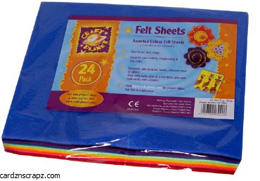 Felt Assorted 24 Pack