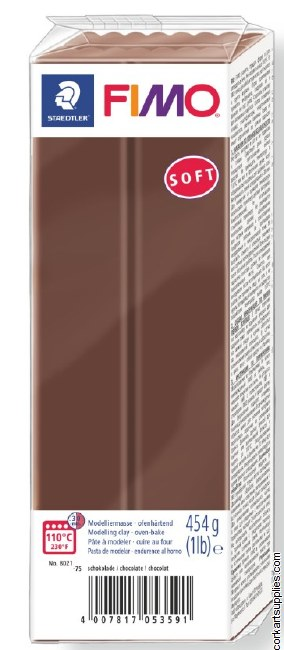 Fimo 454gm Soft Chocolate