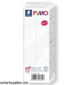 Fimo 454gm Soft White
