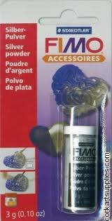 Fimo Powder 10g Silver^