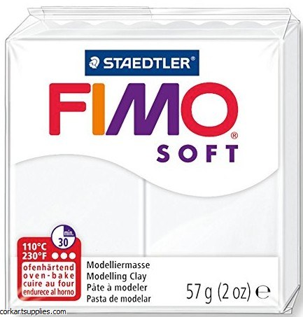 FIMO Soft 57g 8020-0 white