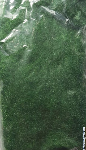 Fiber Flock Dark Green 50g
