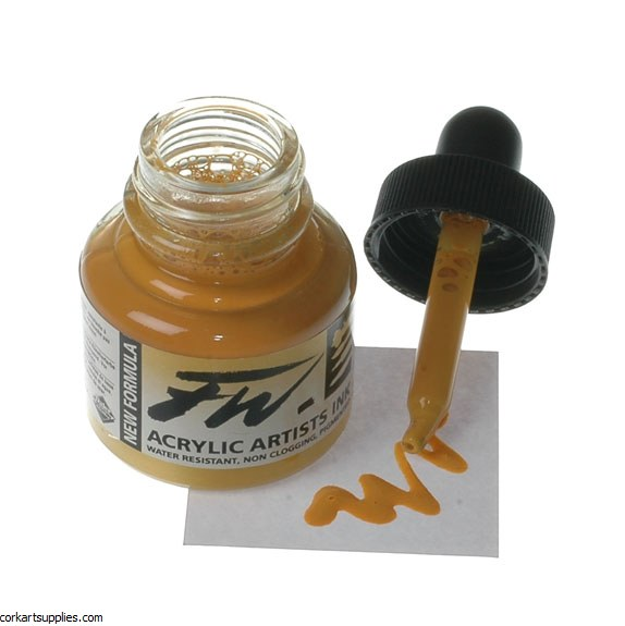 Fw Ink 29.5ml Yellow Ochre