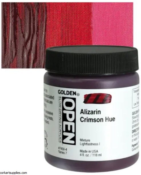 Golden Open 118ml Aliz Crimson