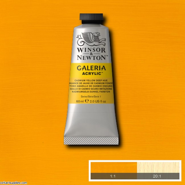 Galeria 60ml Cadmium Yellow Deep (Hue)