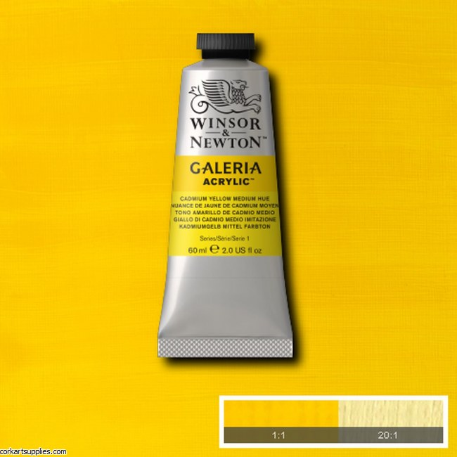 Galeria 60ml Cadmium Yellow Middle (Hue)
