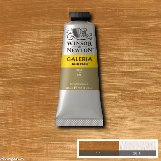 Galeria 60ml Metallic Gold S.2