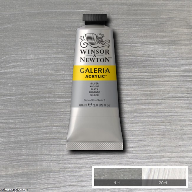 Galeria 60ml Metallic Silver