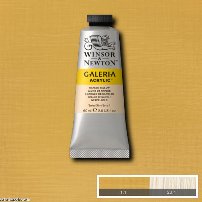 Galeria 60ml Naples Yellow