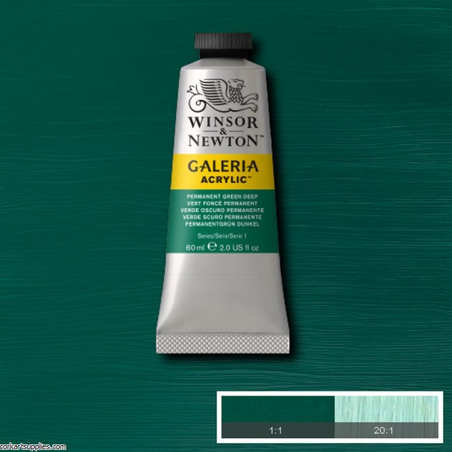 Galeria 60ml Permanent Green Deep