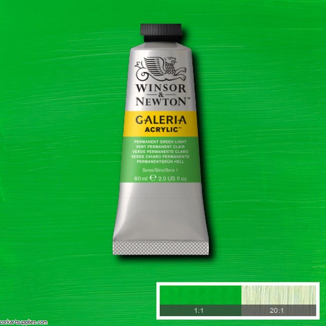 Galeria 60ml Permanent Green Light