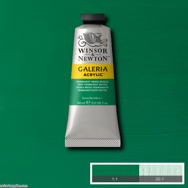 Galeria 60ml Permanent Green Medium