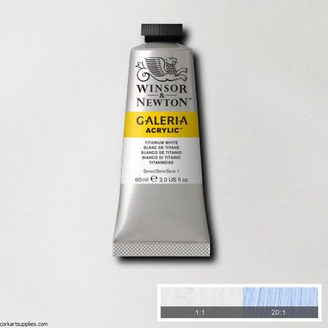 Galeria 60ml Titanium White