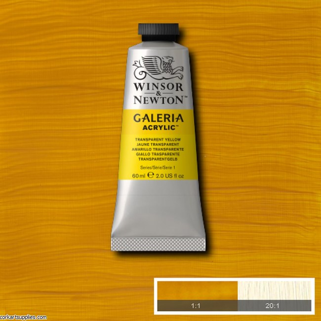 Galeria 60ml Transparent Yellow