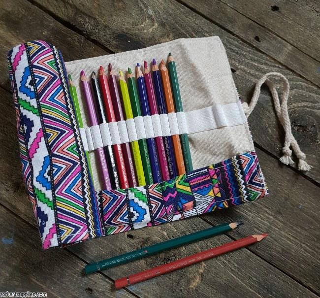 Pencil / Pen Wrap Geo 36pk