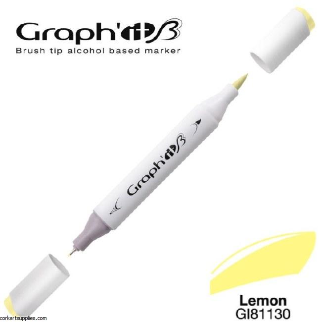 Graph'it Brush Marker 1130 Lemon