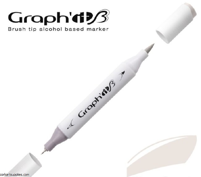 Graph'it Brush Marker 9502 Neutral Gray 2