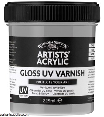 Artists' Acrylic Gloss Varnish 225ml Winsor & Newton