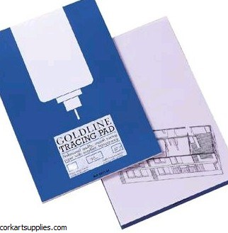 Tracing Pad Goldline 90gm A3