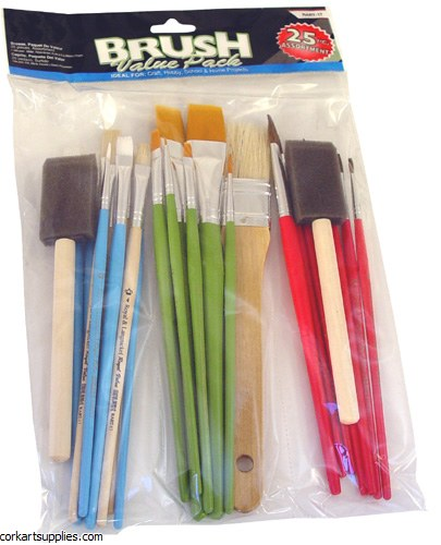 Brush Craft 1 Assorted Sizes 25pk