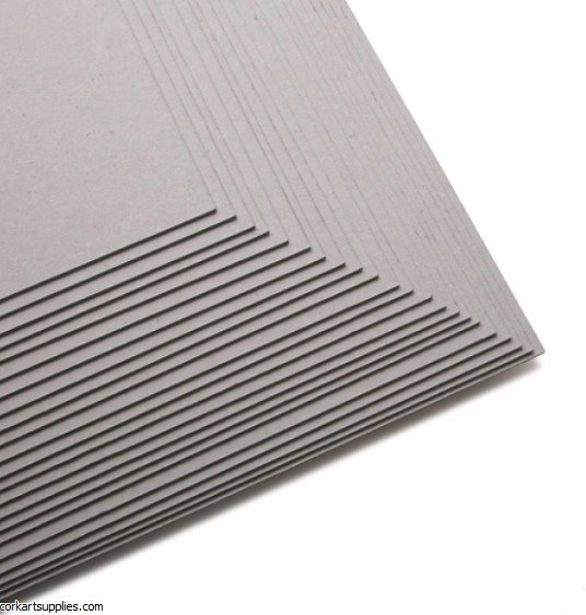 Grey Board 1.5mm 40x50cm **Minimum Order Quantity of 5**
