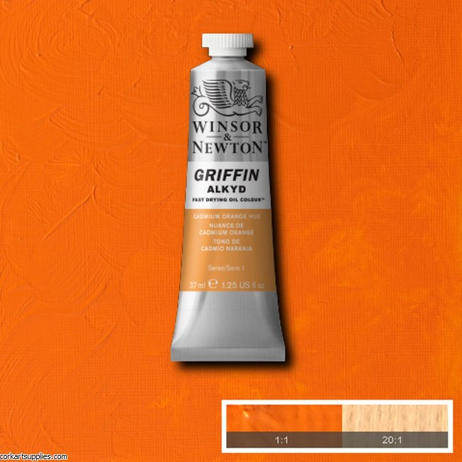 Griffin Alkyd 37ml Cad Orange