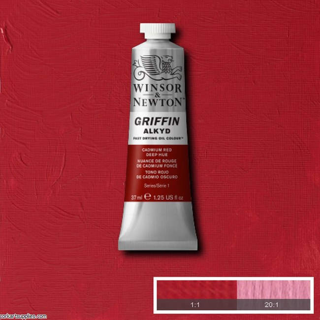 Griffin Alkyd 37ml Cad Red Deep Hue