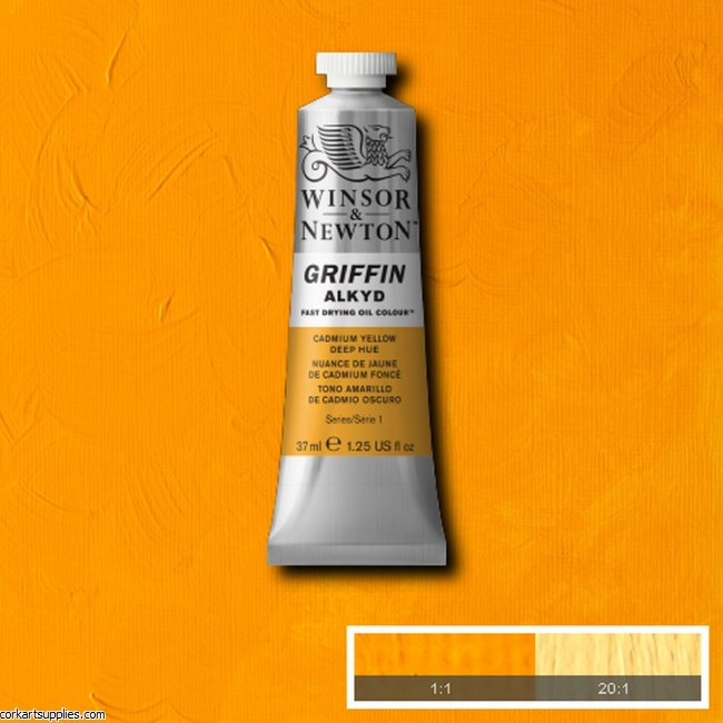 Griffin 37ml Cadmium Yellow Deep Hue