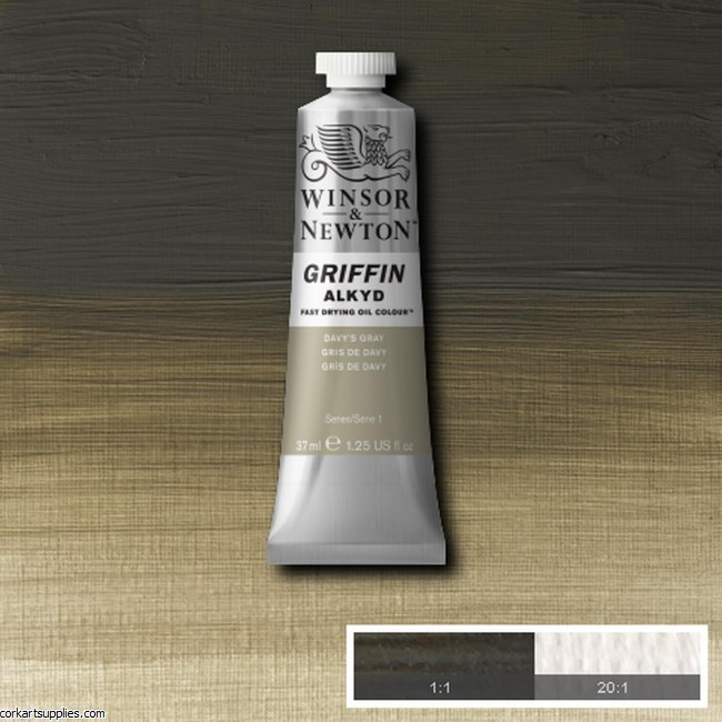 Griffin Alkyd 37ml Davys Grey