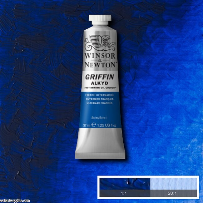 Griffin Alkyd 37ml French Ultramarine