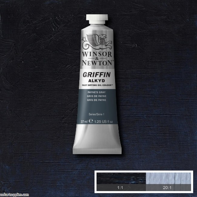 Griffin Alkyd 37ml Paynes Grey
