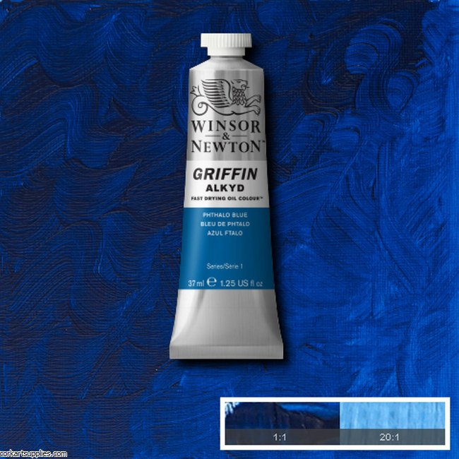 Griffin Alkyd 37ml Phthalo Blue
