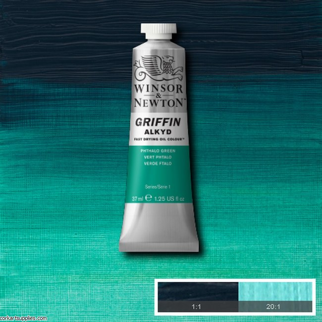 Griffin Alkyd 37ml Phthalo Green