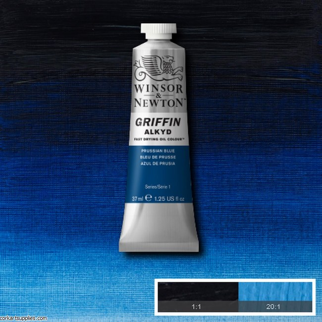 Griffin Alkyd 37ml Prussian Blue