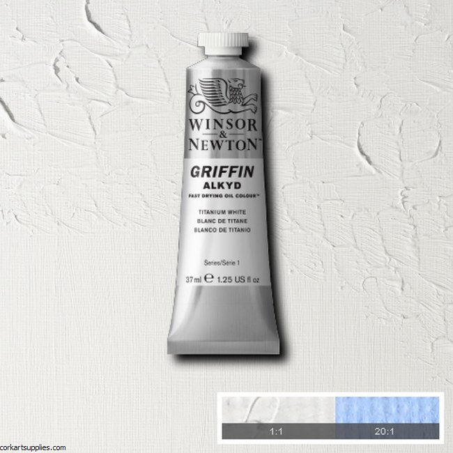 Griffin Alkyd 37ml Titanium White