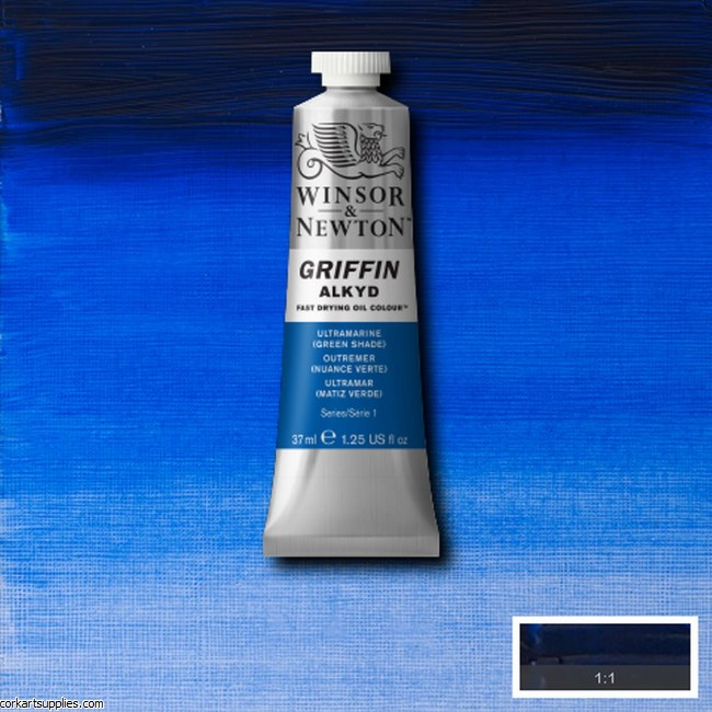 Griffin Alkyd 37ml Ultramarine (Green Shade)