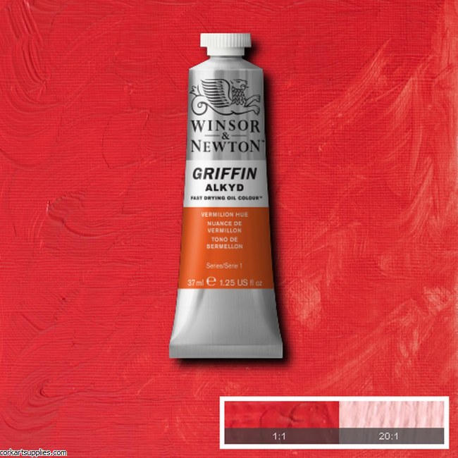 Griffin Alkyd 37ml Vermillion
