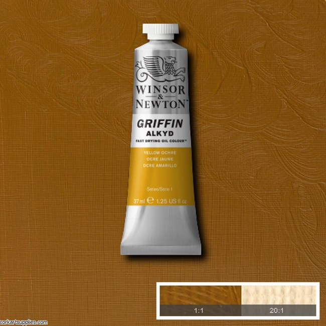 Griffin Alkyd 37ml Yellow Ochre
