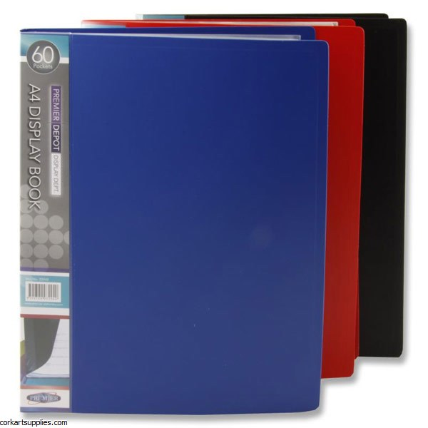 Display Book A4 60 Pocket