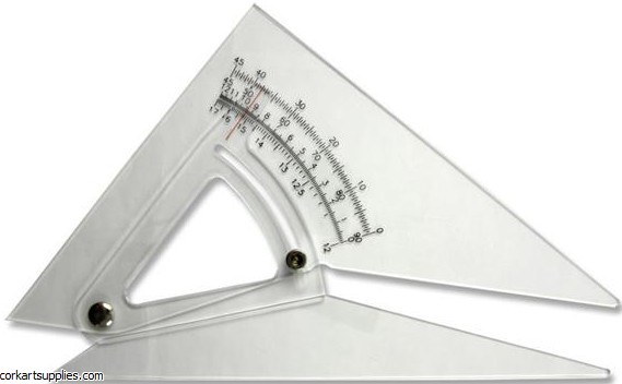 Set Square Adjustable 12