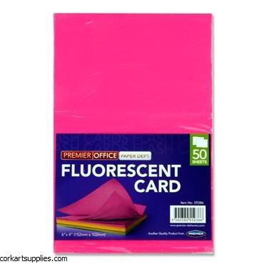 Flash Card Neon 6x4