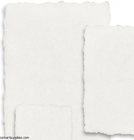 Handmade Paper A6 250gm 10pk White