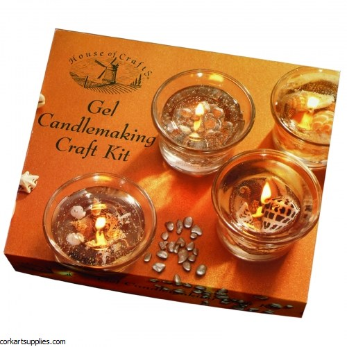 Craft Kit Gel Candles