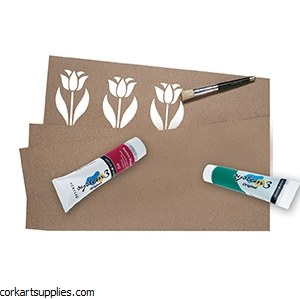Oiled Stencil Card 20x30