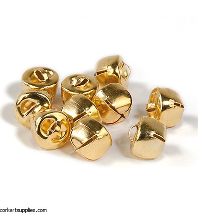 Bells 10mm 12pk Gold Deep
