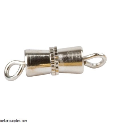 Jewellery Barrel Screw Clasps 10mm 6pk