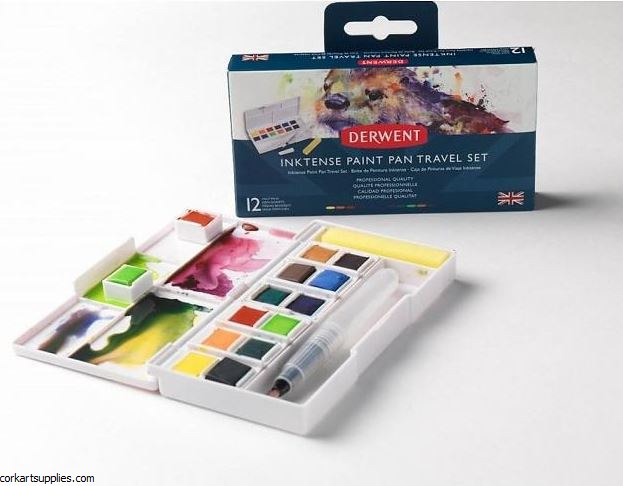 Inktense Pan Travel Box 12+1pk